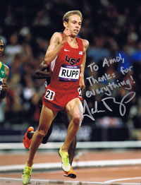 Galen Rupp winning the Olympic Silver Medal in 10K race
